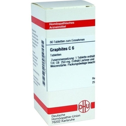 GRAPHITES C 6 Tabletten 80 St