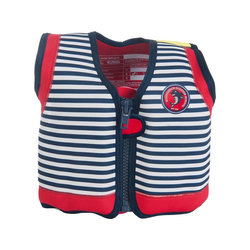Konfidence Jacket Kinder Schwimmweste Schwimmhilfe Neopren Hamptons Navy Stripe
