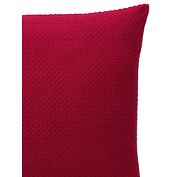 Kissenhülle rot ca. 80/80 cm, einzeln