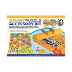 EUROGRAPHICS Puzzlematte Smart Puzzle Zubehörpaket - Kleber, Puzzlematte &