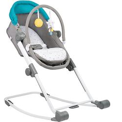 Babywiege Compact Rest & Go, blau/grau, 4-in-1