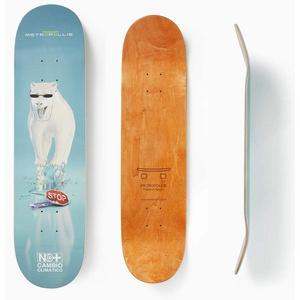 Metropollie Fleece-Bär, Skateboard für Kinder, Mädchen, Jugendliche, Erwachsene, Anfänger, 7-lagig, 100 % kanadisches Ahornholz