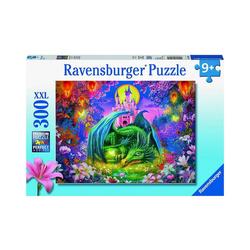 Ravensburger Puzzle Puzzle Mystischer Drachenwald, 300 Teile XXL, Puzzleteile