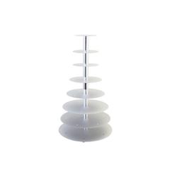 Schneider Etagen-Tortenständer 8-Etagen silber 146008