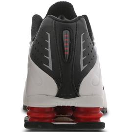 Nike Men's Shox R4 black-white/ red, 43