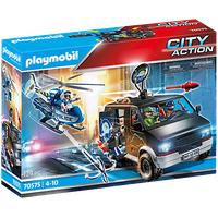 Playmobil City Action Polizei-Helikopter: Verfolgung des Fluchtfahrzeugs 70575