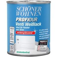 SCHÖNER WOHNEN Profidur Venti Weißlack 750 ml seidenglänzend