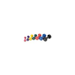 Tunturi Kurzhanteln Vinyl - 4,0 kg blue Gewicht - 4.0 kg, Gewichtart - Kurzhantel,