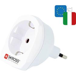 Skross 1.500212-E Reiseadapter CA EU to IT