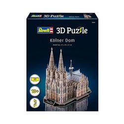 Revell® 3D-Puzzle 3D-Puzzle Kölner Dom, 179 Teile, Puzzleteile