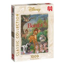 Jumbo Spiele Puzzle 19491 Bambi 1000 Teile Classic Collection Puzzle, 1000 Puzzleteile