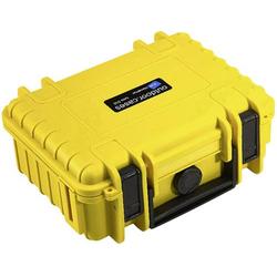B & W Outdoor Koffer outdoor.cases Typ 500 2.3l (B x H x T) 230 x 180 x 90mm Gelb 500/Y/SI