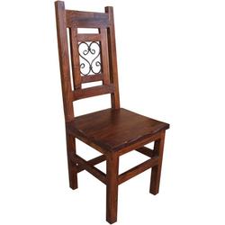 Guru-Shop Stuhl Stuhl aus Vollholz R628 - Modell 12