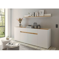 INOSIGN Sideboard CiTY Sideboard 52, im modernen Design weiß