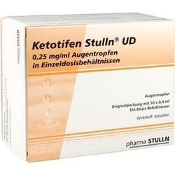 KETOTIFEN Stulln UD Augentropfen Einzeldosispip. 20 ml