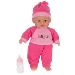 Toi-Toys Babypuppe Babypuppe mit Flasche 30cm Spielpuppe Therapiepupp (Packung)