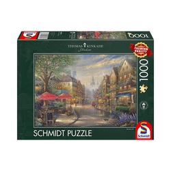 Schmidt Spiele Puzzle Puzzle - Cafe in München, 1.000 Teile, Puzzleteile