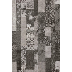 Teppich MARAKESCH grau (BL 140x200 cm)