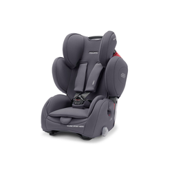 RECARO Autokindersitz Young Sport Hero - Core - Simply Grey, 8 kg, (2-tlg), Kinder Autositz - ab 9 Monate - 12 Jahre (75 -150 cm)
