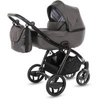 knorr-baby Kombi-Kinderwagen Piquetto Uni, onyxgrau