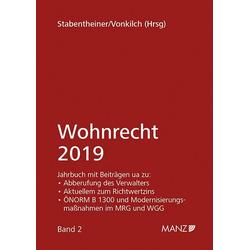 Wohnrecht 2019 als Buch von