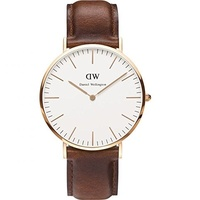 Daniel Wellington Classic Leder 40 mm DW00100006