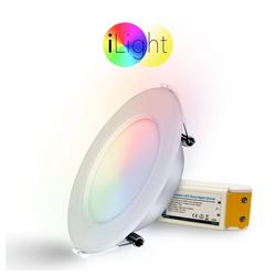 s.LUCE LED Einbaustrahler iLight LED Panel Ø12cm RGB
