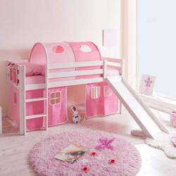 Kinderbett mit Rutsche Tunnel