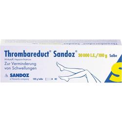 THROMBAREDUCT Sandoz 30.000 I.E. Salbe 100 g