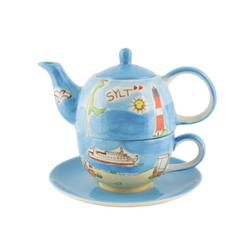 Mila Teekanne Mila Keramik Tee-Set Tea for One Sylt, 0,4 l