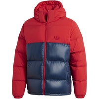 adidas Down Regen Hooded Jacket scarlet/collegiate navy XL