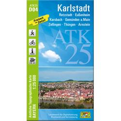 Karlstadt 1:25 000