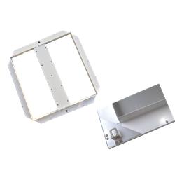 mlight LED-Unterbaurahmen für LED Panel 40W 622x622mm für LED Panel 40W, Maße: 622x622x37mm, Farbe, weiss