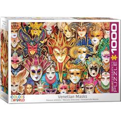 empireposter Puzzle Venezianische Masken - 1000 Teile Puzzle Format 68x48 cm, 1000 Puzzleteile