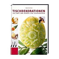 Tischdekorationen aus Obst und Gemüse zum Selbermachen