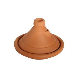 Casa Moro Dampfgartopf Marokkanische Tajine Beldi Ø 26cm unglasiert für 1-3 Personen, Berber Tontopf Handmade Tagine Gartopf, handgetöpfert aus Marrakesch, TA7031, Ton, handgetöpfert