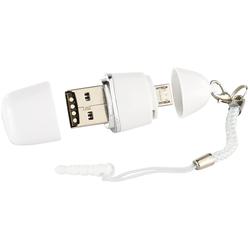 3in1 Micro-USB, USB-2.0-Cardreader & USB-Stick