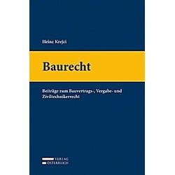 Baurecht. Heinz Krejci  - Buch