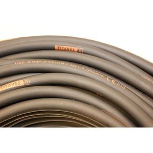 TITANEX KABEL H07RN-F 5x1,5 mm2 (5G1,5) Baustellenkabel, Industriekabel geeignet für den Außenbereich 5-50m (50m)