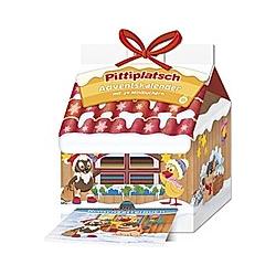 Pittiplatsch  Adventskalender Haus mit 24 Minibüchern - Kalender