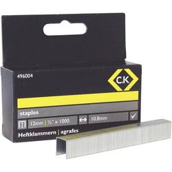 C.K. Tackerklammern 1000 St. 496004 Klammern-Typ 140 Abmessungen (L x B) 12mm x 10.5mm