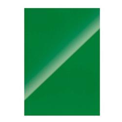 100 Fellowes Rückwände für Bindemappen Chromolux grün