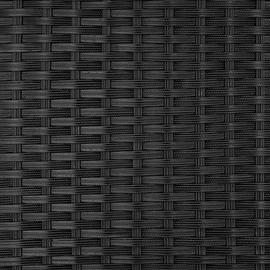 Tectake Korfu Loungesofa schwarz