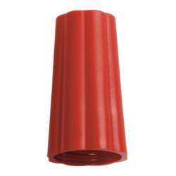 Haug Überwurfmutter, für alle Stiele mit Außen-Ø 25 mm, Farbe: rot