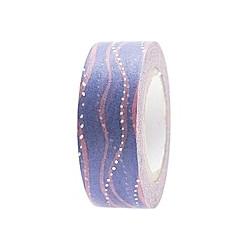 Tape, Wellen, Blau/Rosa