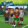 Der geheimnisvolle Pokal - Die Bolzplatzhelden (1) als Hörbuch CD von Christian Mörken