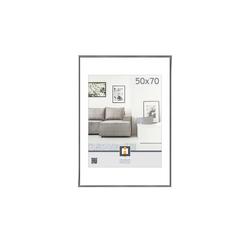 Kunststoffrahmen 50x70 cm ¦ grau ¦ Glas