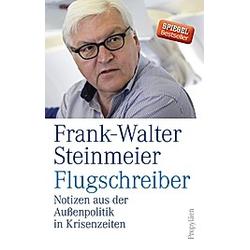 Flugschreiber. Frank-Walter Steinmeier  - Buch