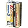 Conrad 650630 Haushaltsbatterie Einwegbatterie 9V Lithium 900 mAh 9V 1St.