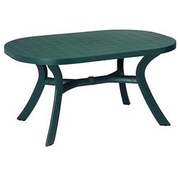BEST Gartentisch Kansas grün oval